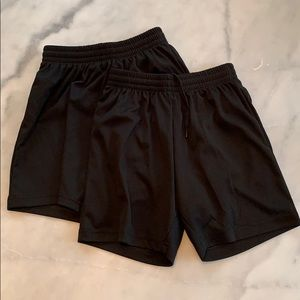 Kids Athletic Shorts (2 Pairs included)
